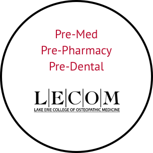 pre-med, pre-pharmacy, and pre-dental at lake erie college of osteopathic medicine