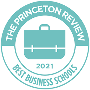 recognized as one of the best business schools of 2018 by the princeton review