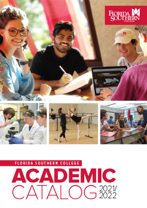 florida southern college academic catalog cover