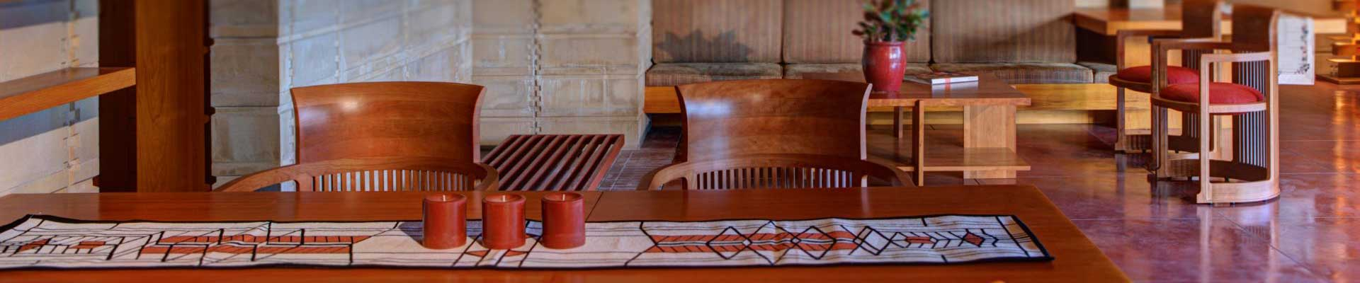 inside the usonian house