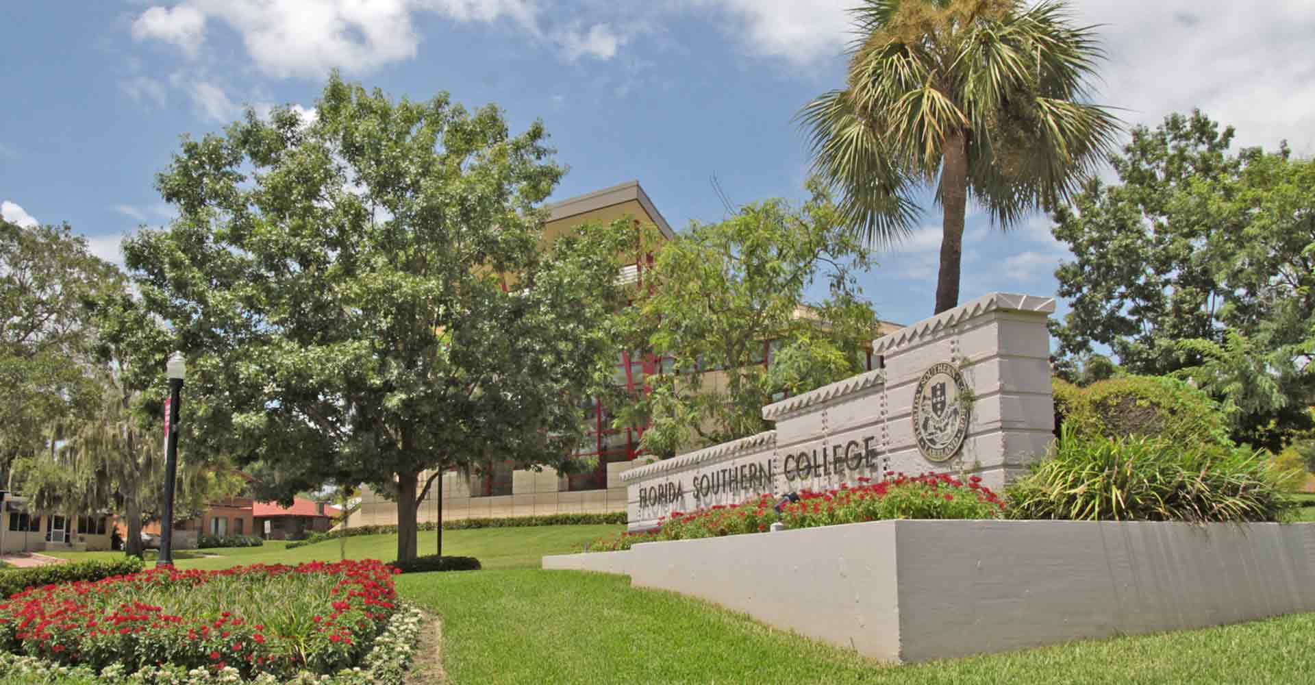 florida southern college corner sign