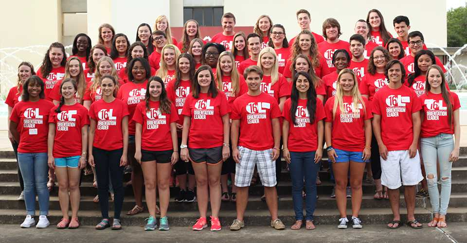 Photo: Group photo of the 2016 Orientation leaders.