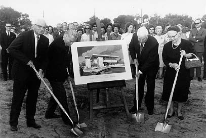 Roux Library Groundbreaking, November 17, 1966