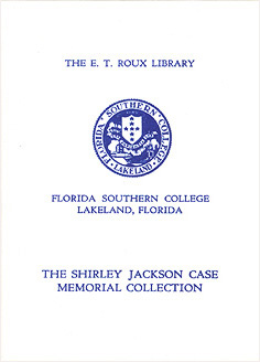 Photo: 1950s The Shirley Jackson Case Memorial Collection