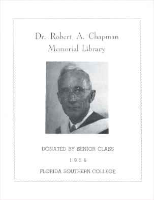 Photo: 1956 Dr. Robert A. Chapman