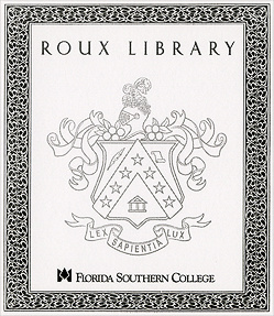 Photo: 2004-2014 Roux Library Sign