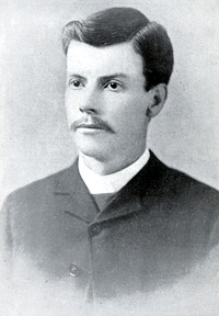 Photo: Joshua Hollingsworth (President 1886-1888)