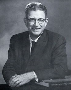 Photo: Charles Tinsley Thrift, Jr. (President 1957-1976)