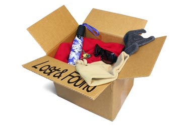 Box of lost items