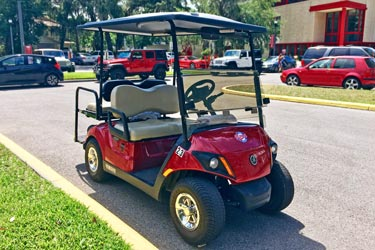 safety escort golf cart