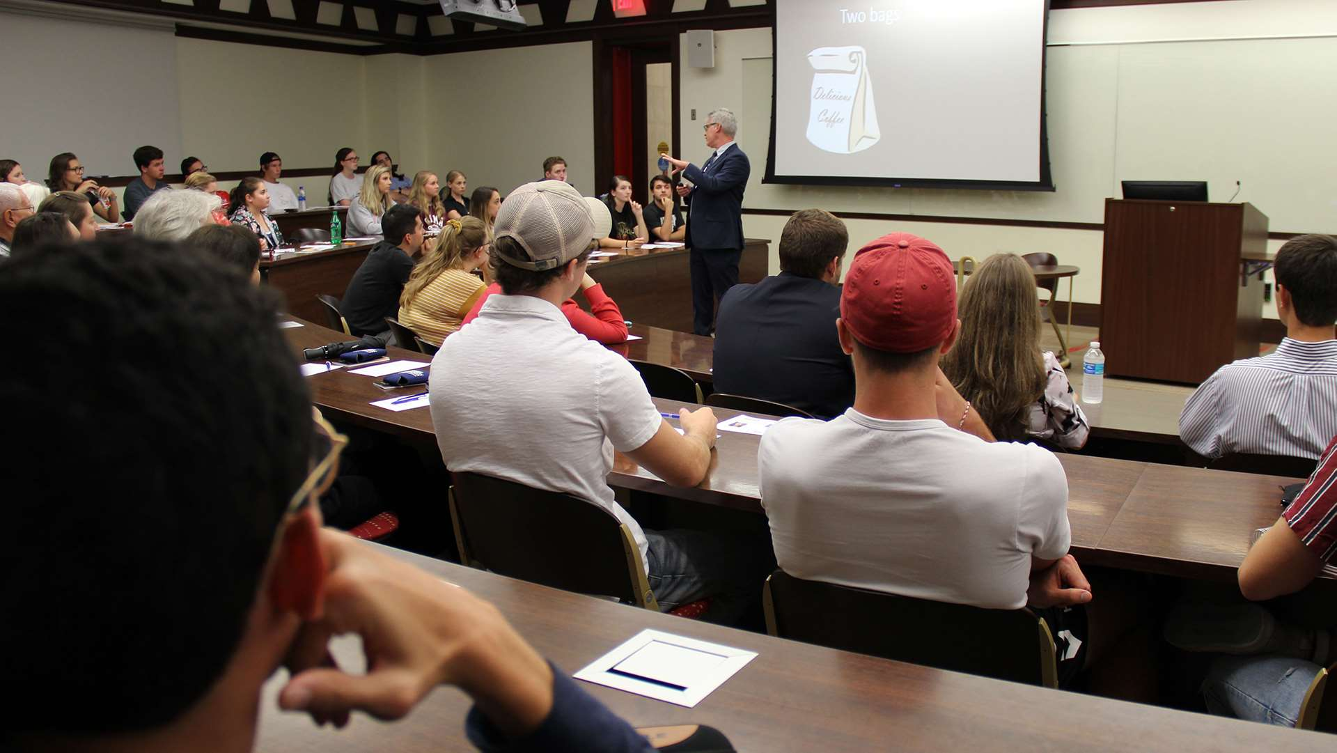 Center for Free Enterprise students