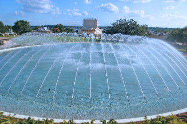 water dome fountain