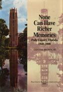 Book: None Can Have Richer Memories Polk County, Florida, 1940-2000
