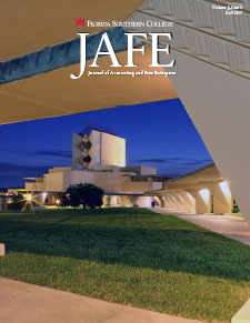 Fall 2017 JAFE cover