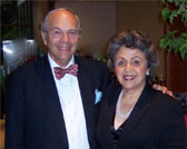 Dr. Bennett and Dr. Sally Shaywitz