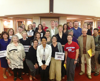 Fall 2012 PDI Recipients