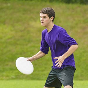 Ultimate Frisbee player