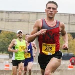 Leading the Ten-Miler Race
