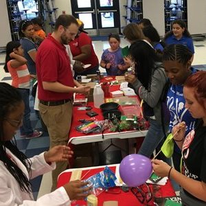 Science Faculty and Students Visit School's Science Night