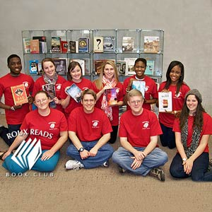 FSC Book Club Donates to Jesse Keen Elementary