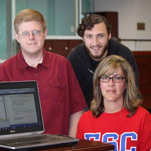 Computer Science Team Makes Research Soar