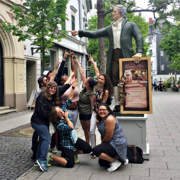 FSC students in Weimar, Germany