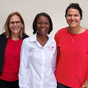Dr. Nancy Nuzzo, Dr. Prisca Collins, and Dr. Maria Torres-Palsa