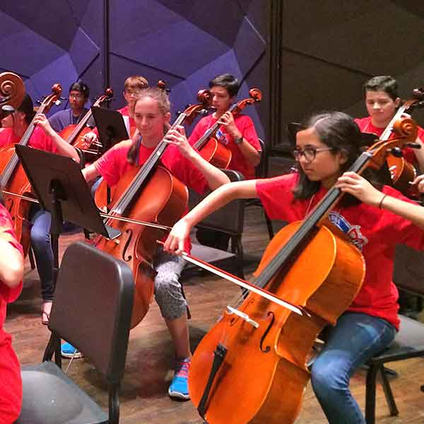 Summer String Orchestra Camp a Hit!