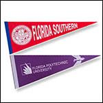 FSC and Florida Poly pennants