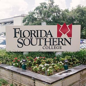 Florida Southern welcome sign