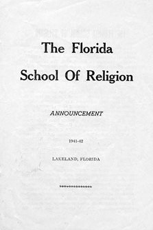 the florida school of religion