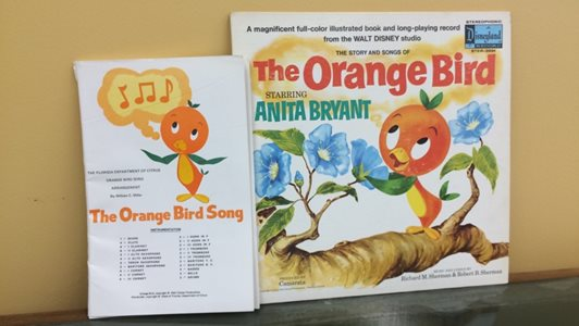 The Orange Bird record and song book