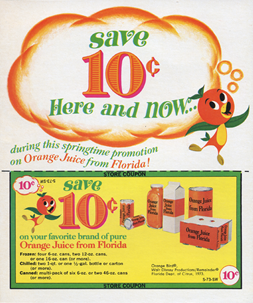 The Orange Bird store coupon