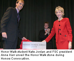 Photo: Nate Jordan and Dr. Kerr