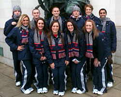 Photo: USA National Trampoline Team